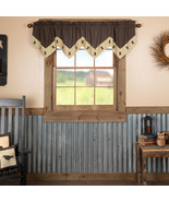 Kettle Grove Star Valance County Kitchen Curtains  - $35.00+