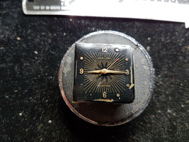 VINTAGE 1950'S BLACK DIAL HAMILTON VICTOR ELECTRIC 500 MOVEMENT AND DIAL... - $152.38