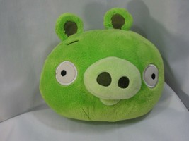 """Angry Birds Green Pig 8"""" WITH SOUND Plush 2010 Commonwealth Rovio Bad Pi... - $27.71"""