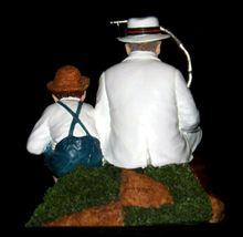 """Fishing"" by Norman Rockwell Figurine AA19-1655 Vintage image 4"