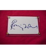 RONNIE WOODS Autographed Signed Signature Cut w/COA - 30750 - $45.00