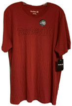 Hurley Nike Dri-Fit Men's Shirt Size XL RED BLACK Logo Premium T-Shirt NEW - $21.00