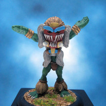 Painted Ral Partha Miniature Orc Plains Shaman - $44.51