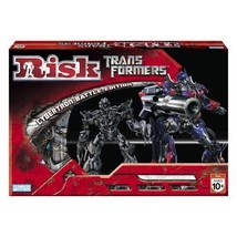 NEW 2007 TRANSFORMERS MOVIE RISK BOARD GAME AUTOBOT DECEPTICON CYBERTRON... - $31.97