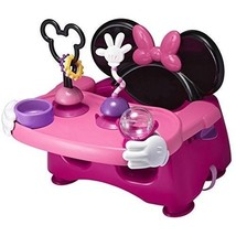 Booster Chair Toddler Seat Tray Baby Table Safe Portable Adjustable Pink... - $53.87
