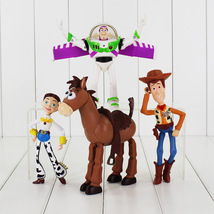 Set 4Pcs Buzz Lightyear Toy Story 3 Woody Jessie PVC Action Figures - $24.95