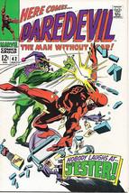 Daredevil Comic Book #42 Marvel Comics 1968 FINE+ - $24.11