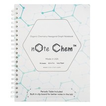 Note Chem Hexagonal Graph Paper: Organic Chemistry Notebook, 180 Pages, ... - $27.48