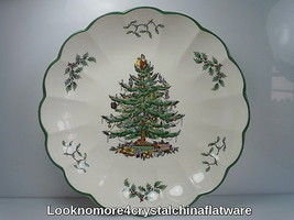 Spode Christmas Tree Round Fluted Dish  - $19.79