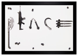 Peace Weapons 24x36 Framed Art Poster (Z1-1150) - $42.08