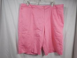 Liz Claiborne Jackie Shorts Pink Size 10W Bermuda - $13.99