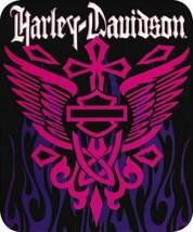 Harley-Davidson Heavyweight Blanket, Rising Cross - $64.35