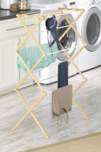 NEW! Drying Rack Clothes Folding Portable Collapsible  - £26.60 GBP
