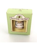 Royal Doulton Brambly Hedge Thimble Autumn 1994 Fall Porcelain New in Box - $25.00