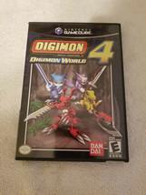 Digimon World 4 (Nintendo GameCube, 2005) Complete w/ Manual Excellent C... - $89.95