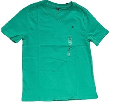 Tommy Hilfiger Kids T-Shirt Boys Green- M(8-10) - $18.99
