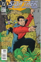 Star Trek: The Next Generation Comic Book #67, Dc Comics 1995 Near Mint Unread - $2.99