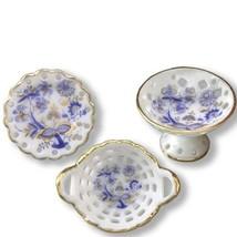 Reutter blue onion fancy porcelain bowl set gemjanes dollhouse miniatures 14348 lg thumb200