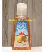 Coconut Cooler Pocketbac Antibacterial Sanitizing Hand Gel Bath and Body... - $4.00