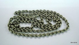 vintage antique tribal old silver chain necklace handmade jewellery - $178.20