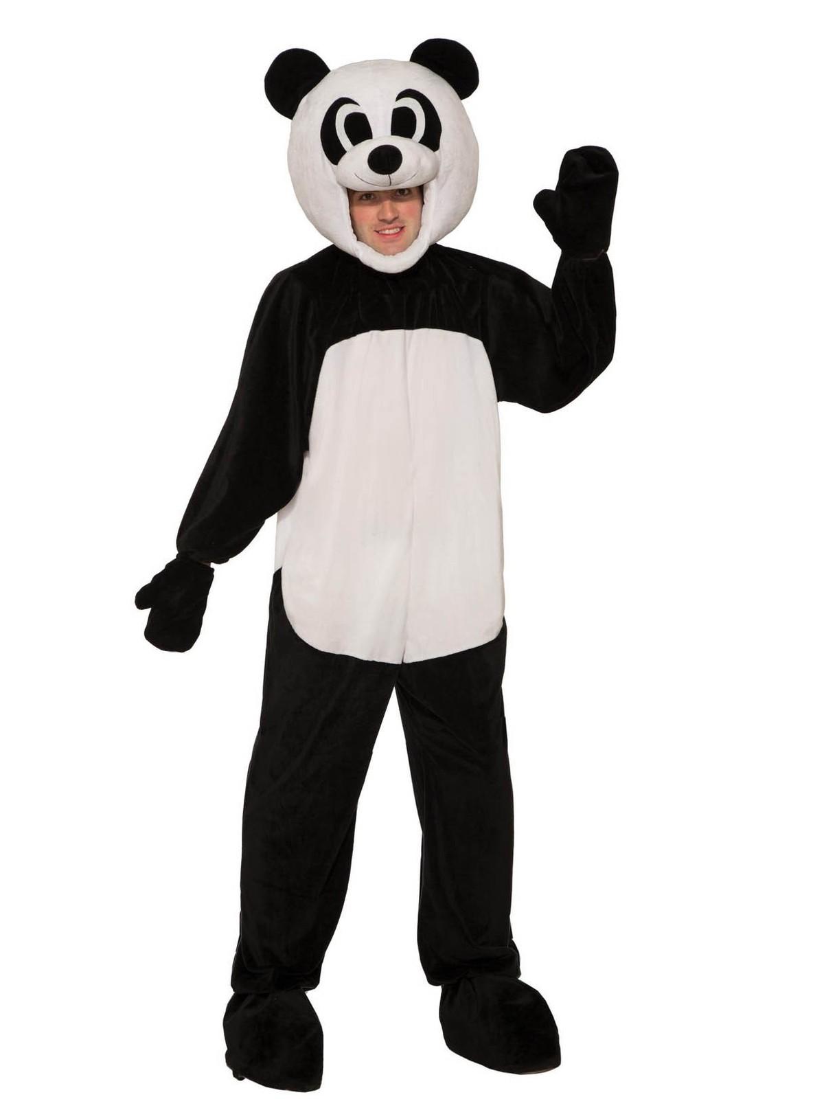 Medium As Shown Forum Novelties Childs Panda Costume Jumpsuit