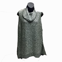 TWO BY VINCE CAMUTO  Marled Sleeveless Cowl Neck High Low Sweater Size M... - $21.77