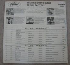 Big Surfing Sounds Are On Capitol PRO2658 Mono RARE Promo Beach Boys Dick Dale image 2