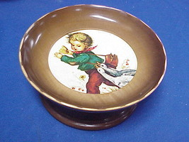 Vintage Cuendet Hummel Style Boy w/Geese Music Box Swiss Musical Movement - $19.78