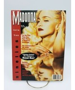 Madonna into the Nineties Magazine with Poster Insert Rare Vintage 90s - $38.61