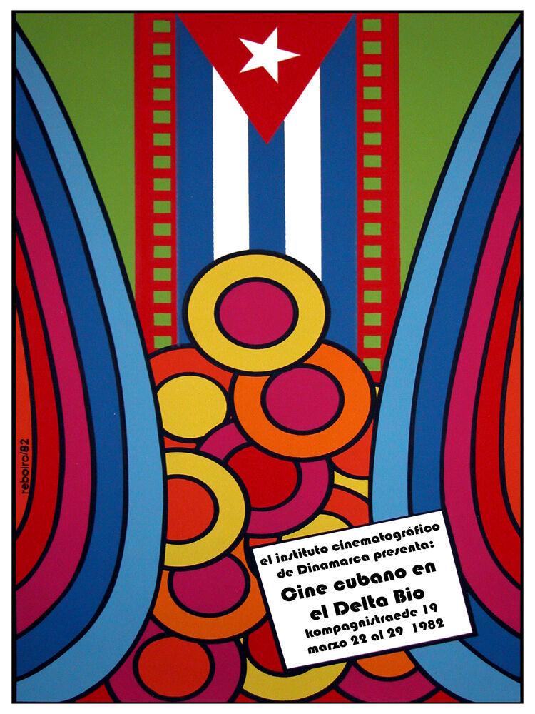 Cine Cubano en delta bio 1982 Decoration Poster.Room Art Interior design 3140 - $11.30 - $70.13