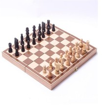 1pcs Folding wooden international chess sets. Board games table games - $24.99