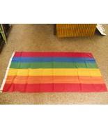 3 x 5 rainbow flag gay lesbian LGBT pride - $9.90