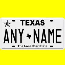 1/43-1/5 scale custom license plates any brand RC/model car - Texas tag - $11.00
