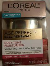 L'Oréal Paris Age Perfect Rosy Tone Fragrance Free Face Moisturizer - 1.7oz - $14.80