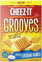 Cheez It Grooves Zesty Cheddar Ranch, 9 Ounce - $10.82