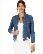 new Levi's women jean jacket 79713-0000 blue sri lanka s - $41.96