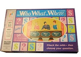 Vintage 1970 The Who What or Where Game Based on the NBC Television  - $89.99