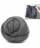 Giant Wool Yarn Chunky Arm Knitting Super Soft Wool Yarn Bulky Wool Rovi... - $47.65