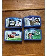 Lot of 4 LEAP FROG Leapster Disney Pixar CARS K-2nd Grade SONIC X Dora W... - $11.29
