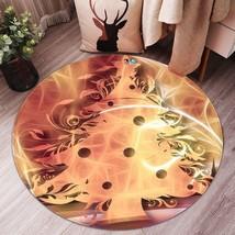 3D Christmas Xmas Magic Tree 3 Non Slip Rug Mat Room Mat Round Elegant Carpet UK - $106.33+