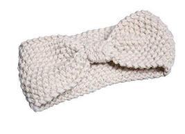 Alien Storehouse Lovely Bow White Broadside Knitted Hairband Wool Headba... - $12.61