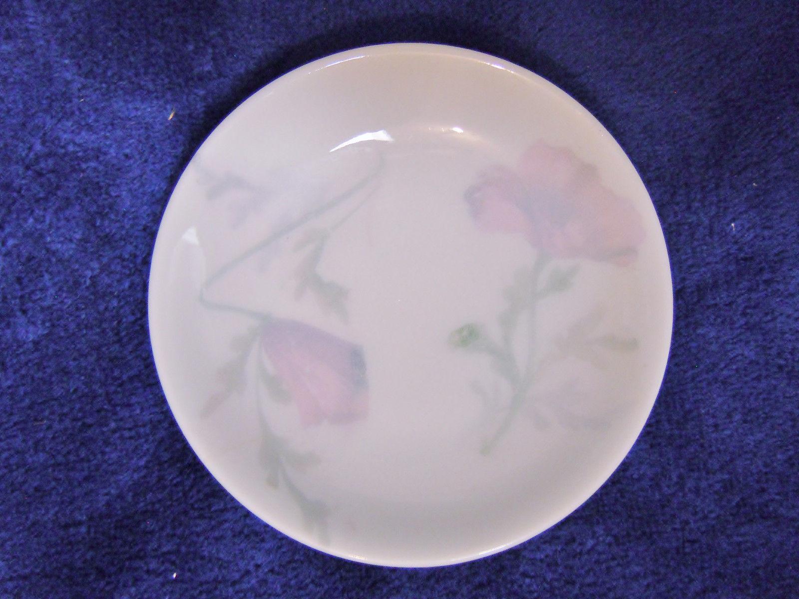 Fraureuth Saxony porcelain butter pat dishes 6