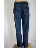 """LEE """"At the Waist"""" Women's 14 Short Relaxed Straight Leg Stretch Jeans GUC - $28.05"""