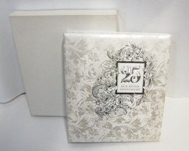Hallmark AA2018 25th Our Silver Anniversary Refillable Keepsake Album 3 Rings image 1