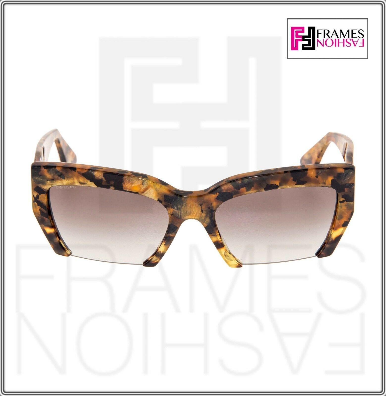 MIU MIU RASOIR 11O Square Sunglasses MAN-0A7 Caramel Marble Sunglasses MU11OS image 6