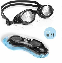 Swim Goggles, No Leaking Anti Fog UV Protection Swimming Goggles
