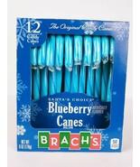 Brach's Santa's Choice Blueberry Candy Canes 12 Count - $9.35