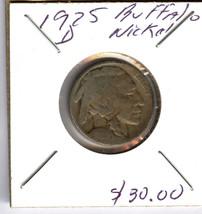 1925 D  BUFFALO NICKEL - $29.70