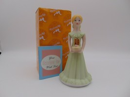 Enesco Growing Up Girls Blonde Figurine Age 11 E-2311 New in Box 1981 - $16.83