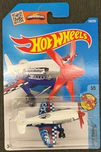 HOT WHEELS 2016 SKY SHOW #5/5  MAD PROPZ  WHITE - MIP - $2.25